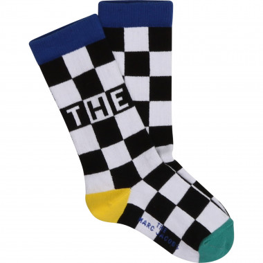 Checkered jacquard socks THE MARC JACOBS for BOY