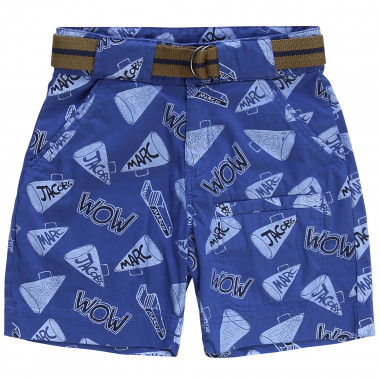 Canvas Bermuda cargo shorts LITTLE MARC JACOBS for BOY
