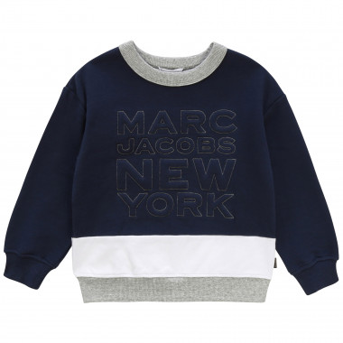 Colourblock fleece sweatshirt LITTLE MARC JACOBS for BOY
