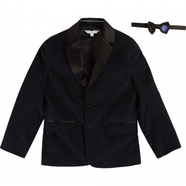 Wool suit jacket with bow tie LITTLE MARC JACOBS for BOY