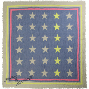 Modal scarf with star motif ZADIG & VOLTAIRE for GIRL