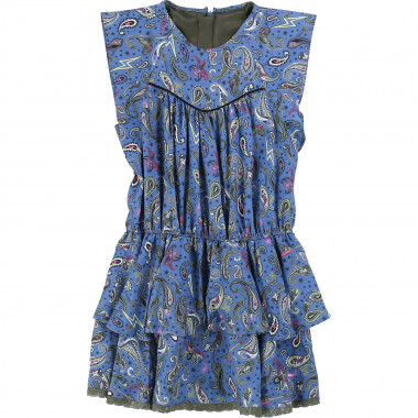Printed dress with ruffles ZADIG & VOLTAIRE for GIRL