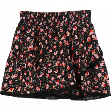 Printed skirt with ruffle ZADIG & VOLTAIRE for GIRL