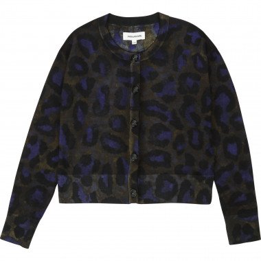 Camouflage print cardigan ZADIG & VOLTAIRE for GIRL