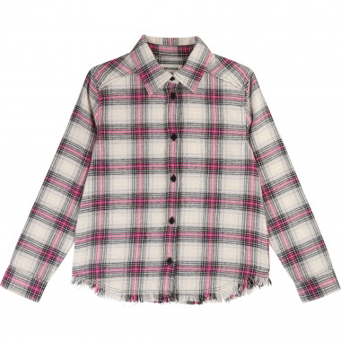 Checked cotton shirt ZADIG & VOLTAIRE for GIRL
