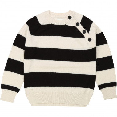 Wool cashmere striped jumper ZADIG & VOLTAIRE for GIRL