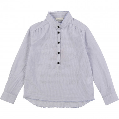 Striped cotton blouse ZADIG & VOLTAIRE for GIRL