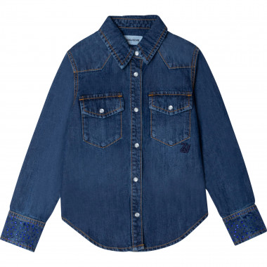 DENIM SHIRT ZADIG & VOLTAIRE for GIRL