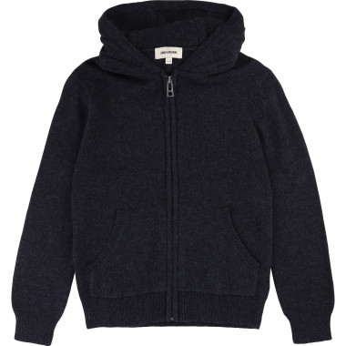 Hooded zipped cardigan ZADIG & VOLTAIRE for BOY