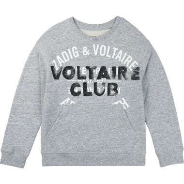 Cotton sweatshirt ZADIG & VOLTAIRE for BOY