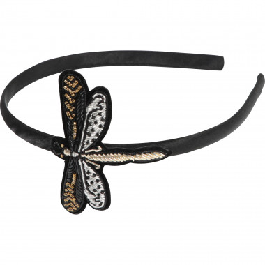 Formal satin headband CARREMENT BEAU for GIRL