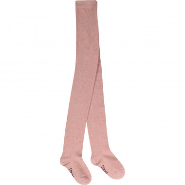 Lurex knitted tights CARREMENT BEAU for GIRL