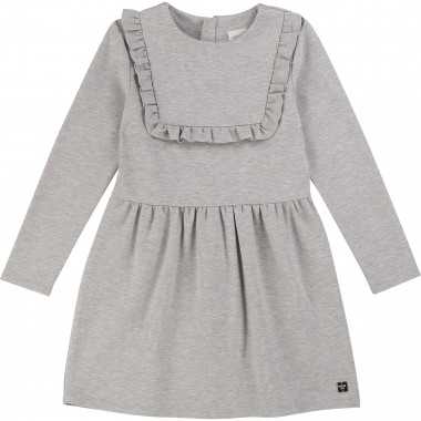 Milano dress with frill CARREMENT BEAU for GIRL