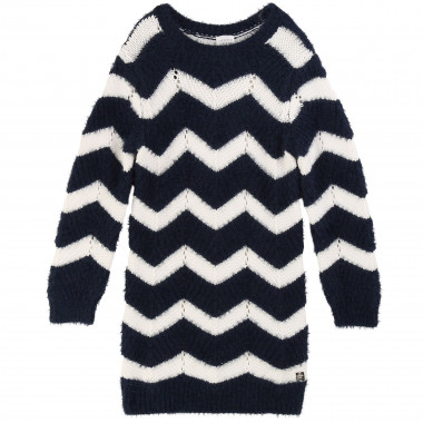 Novelty knitted dress CARREMENT BEAU for GIRL