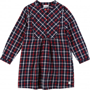 Cotton flannel dress CARREMENT BEAU for GIRL