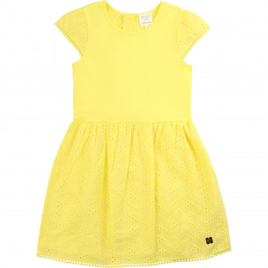 Zipped cotton dress CARREMENT BEAU for GIRL