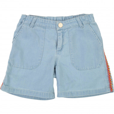 Beaded jean shorts CARREMENT BEAU for GIRL