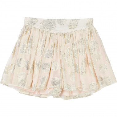Silk voile formal shorts CARREMENT BEAU for GIRL