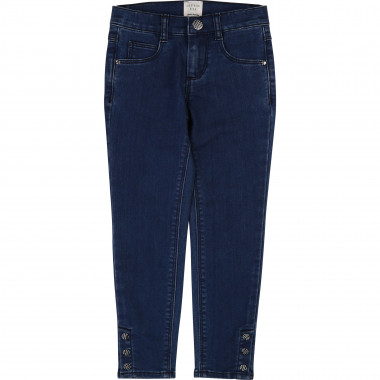 Slim stretch denim trousers CARREMENT BEAU for GIRL