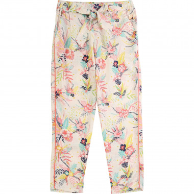 Flowing printed trousers CARREMENT BEAU for GIRL