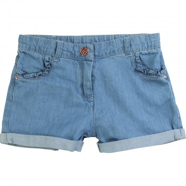 Lightweight denim shorts CARREMENT BEAU for GIRL