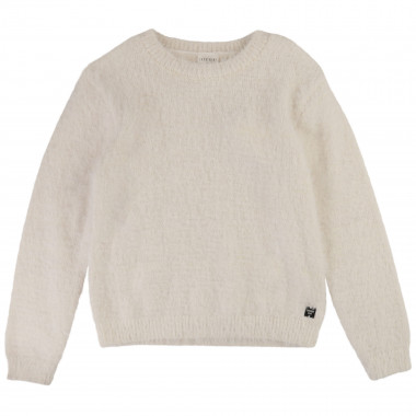 Round-necked knitted jumper CARREMENT BEAU for GIRL