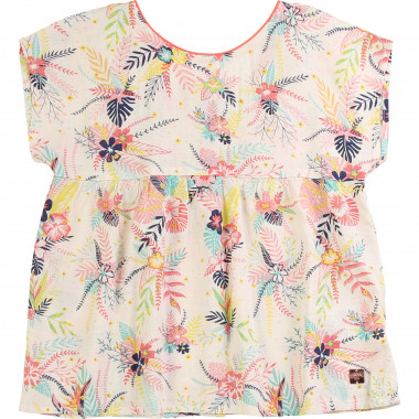 Tropical print blouse CARREMENT BEAU for GIRL