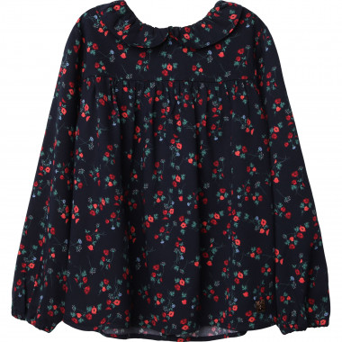 Viscose twill blouse CARREMENT BEAU for GIRL