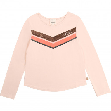 Cotton and modal t-shirt CARREMENT BEAU for GIRL