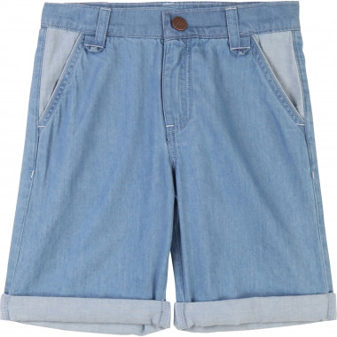 Lightweight denim Bermudas CARREMENT BEAU for BOY