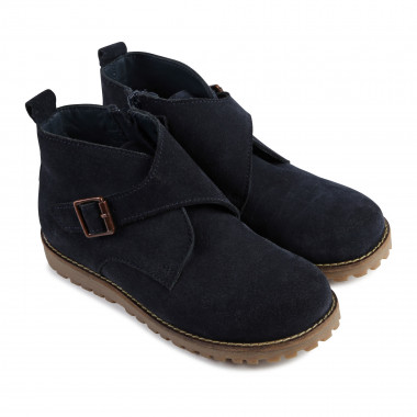 Suede leather boots CARREMENT BEAU for BOY