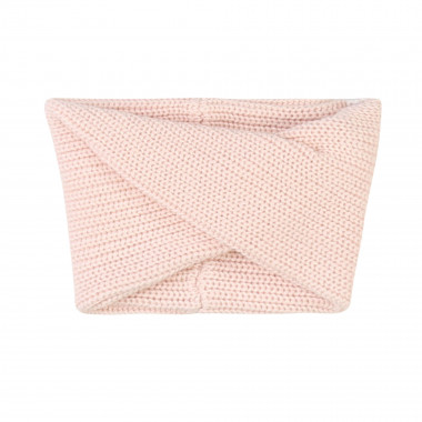 Cotton and wool knit snood CARREMENT BEAU for GIRL