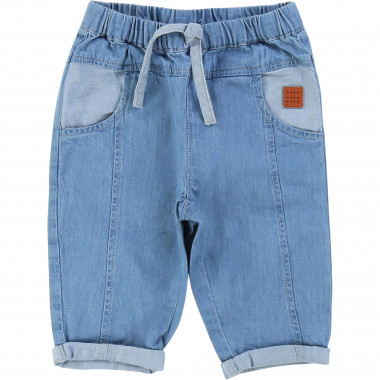 Lightweight denim trousers CARREMENT BEAU for BOY
