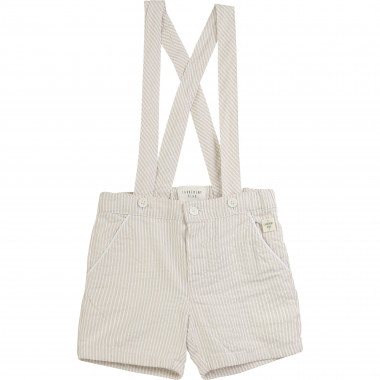 Striped formal shorts CARREMENT BEAU for BOY