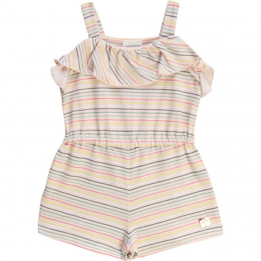 Striped playsuit CARREMENT BEAU for GIRL