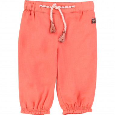 Novelty viscose trousers CARREMENT BEAU for GIRL