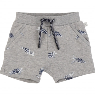 Printed fleece shorts CARREMENT BEAU for BOY