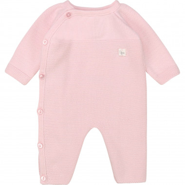 Tricot onesie Made in France CARREMENT BEAU for GIRL