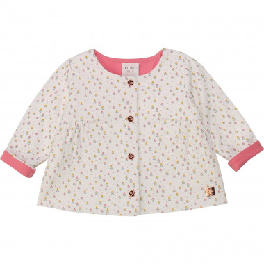 Tube-knit cardigan CARREMENT BEAU for GIRL