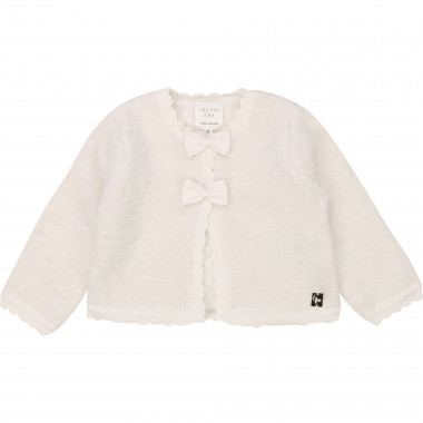 Cropped tricot cardigan CARREMENT BEAU for GIRL