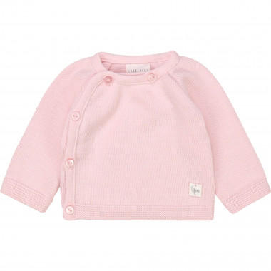 Organic cotton tricot baby vest CARREMENT BEAU for GIRL