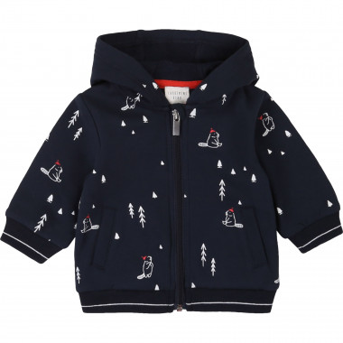 Printed hooded jumper CARREMENT BEAU for BOY