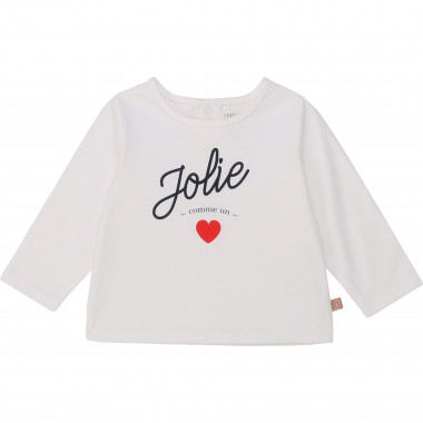 Organic cotton printed top CARREMENT BEAU for GIRL