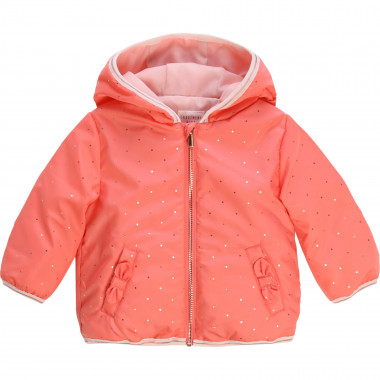Waterproof hooded windbreaker CARREMENT BEAU for GIRL