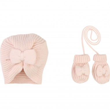 Hat and mittens set CARREMENT BEAU for GIRL