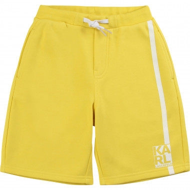 Cotton Bermuda shorts KARL LAGERFELD KIDS for BOY