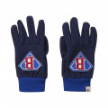 Gloves with embroidery detail BILLYBANDIT for BOY