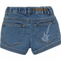 Embroidered denim shorts ZADIG & VOLTAIRE for UNISEX