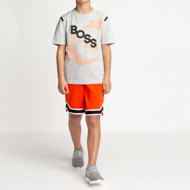 Camiseta regular estampada BOSS para NIÑO