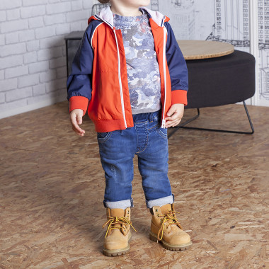 Camiseta estampada all over TIMBERLAND para NIÑO